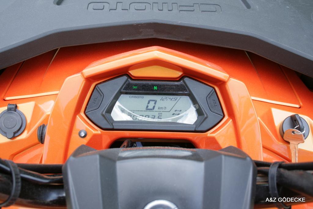 CFMOTO CForce 450 L 4×4 DLX LOF