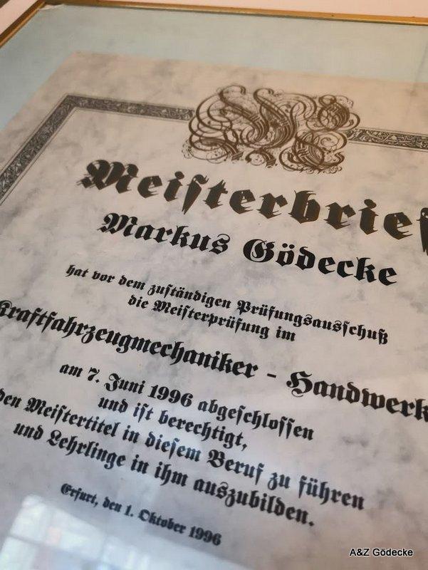Meisterbrief M